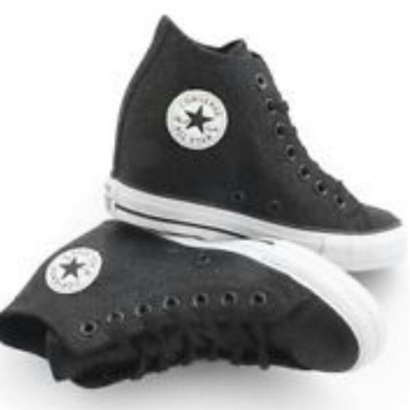 6a93b5bd9b21 BNWB Converse Wedge Heel Sneakers